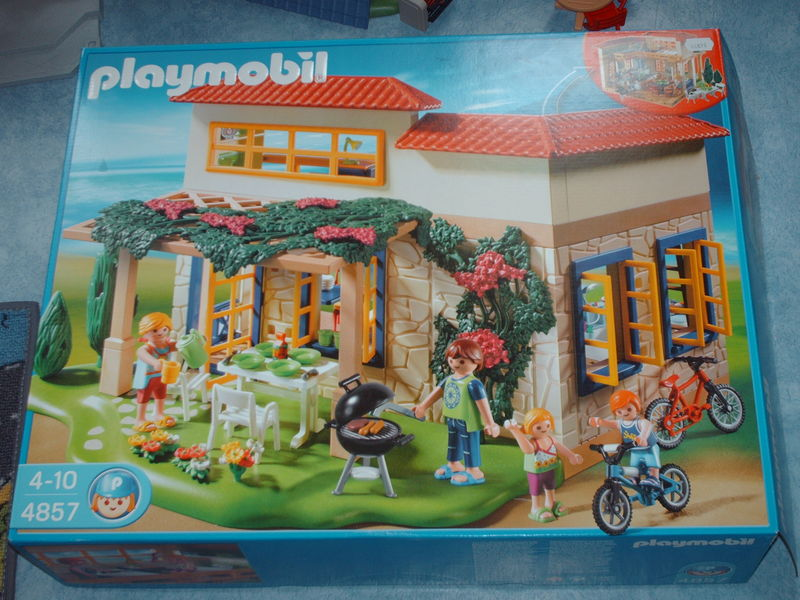 maison de vacances playmobil playmocity en avant les. Black Bedroom Furniture Sets. Home Design Ideas