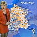 Evelyne dhéliat sur you tube 1998 tailleur cuir rouge