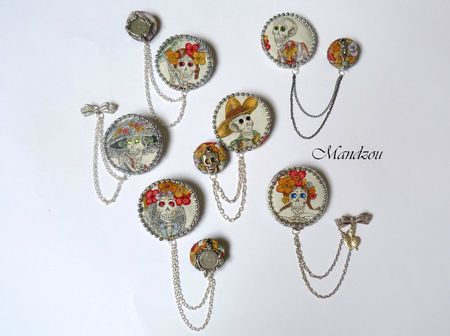 Maracas broche doubles 01