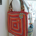 le sac granny rouge...