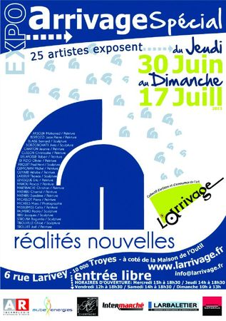 AfficheArrivage_RealitesNou