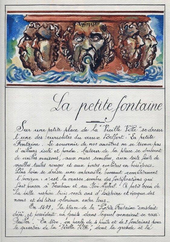 Petite Fontaine Doc 2R