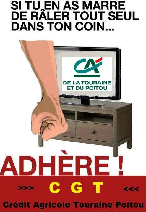 Adhère CGT CATP