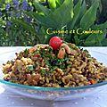 Pilaf de riz & lentilles aux épices : pour la somalie