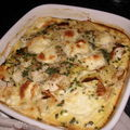 GRATIN DE POIREAU AU ST FELICIEN