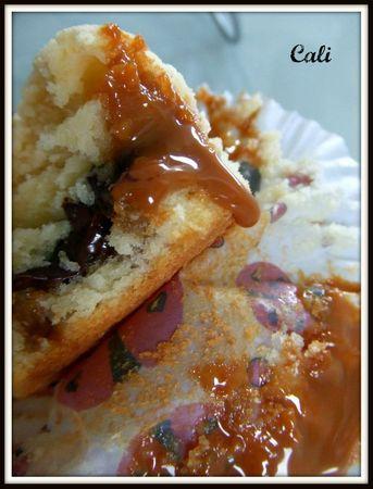 Cupcakes Coeur Coulant Chocolat & Dulce de Leche 004