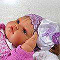 Headband bébé dentelle