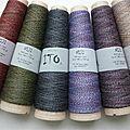 Gros arrivage de laines ito ( niji, kinu, sensaï , tetsu )