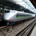 Shinkansen 100, dès 1985. Ici en gare d'Osaka