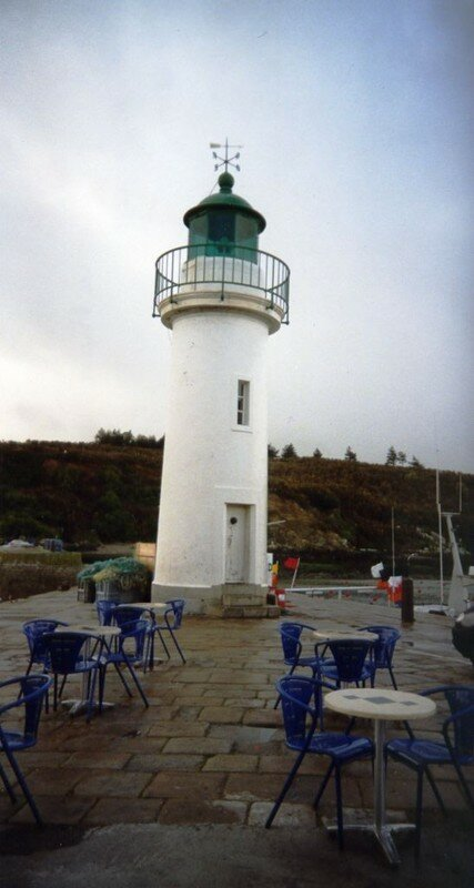 Sauzon le phare