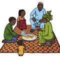 Repas au sénégal