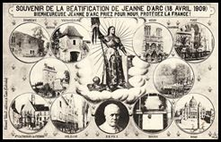 18 AVRIL 1909 - La béatification de Jeanne d'ARC 38188148