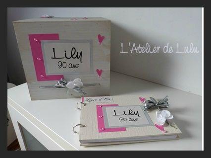 Decoration anniversaire fait main original et personnalise tous les message - Decoration fait main ...