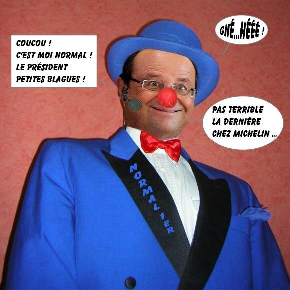 Hollande Président petites blagues - Gifs, Morphings, Montages en tous genres