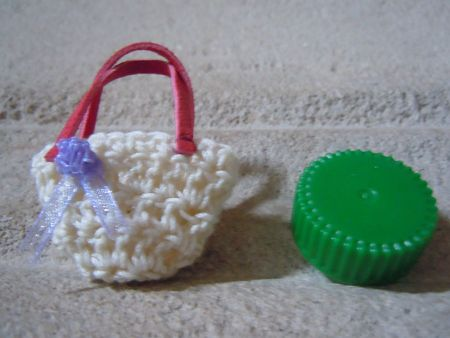 Mini sac crochet