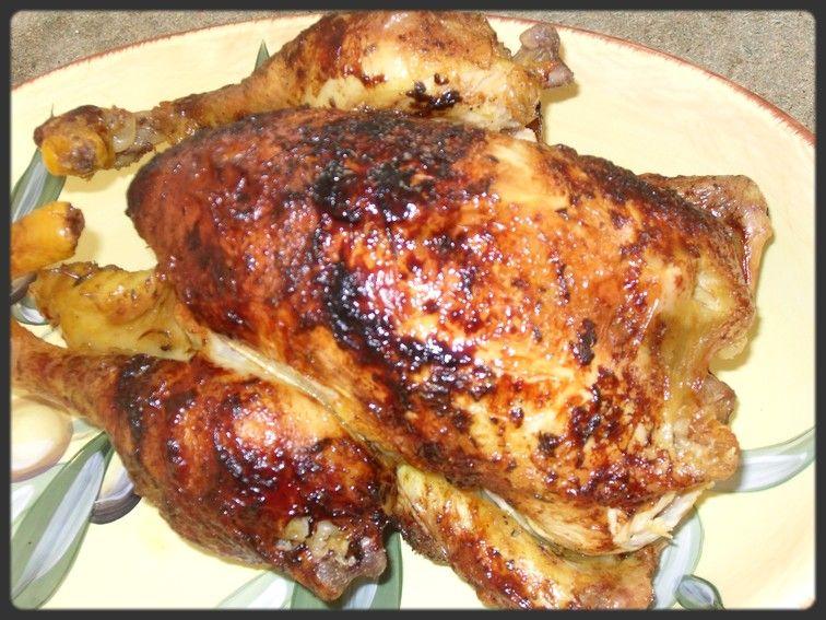 recette poulet fermier roti broche. Black Bedroom Furniture Sets. Home Design Ideas