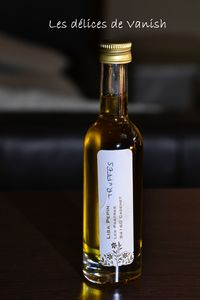 huile d'olive à la truffe- aromatisée- les pastras