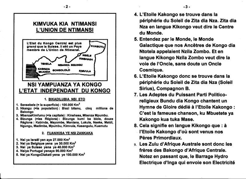 LES ZULU D'AFRIQUE DU SUD SONT LES FRERES DE TRIBU DE BENA KONGO DE LA RDC b