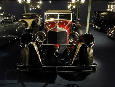 Mercedes Benz 710 ss cabriolet 1929 Muse National de l'Automobile de Mulhouse, collection Schlumpf 2