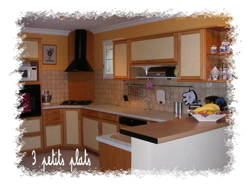 ma belle cuisine 3 petits plats. Black Bedroom Furniture Sets. Home Design Ideas