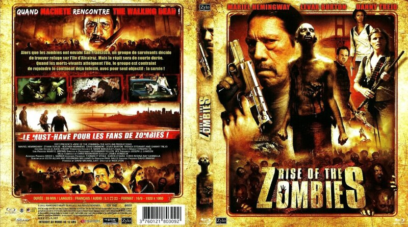 Jaquette Rise of the Zombies (2012)