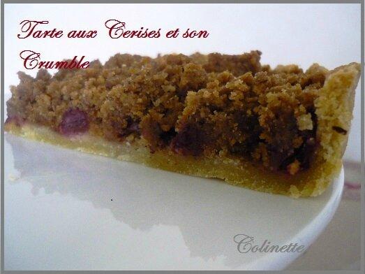 tarte cerises crumble 01