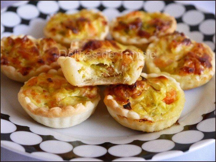 mini tartelettes saumon - crevettes 2