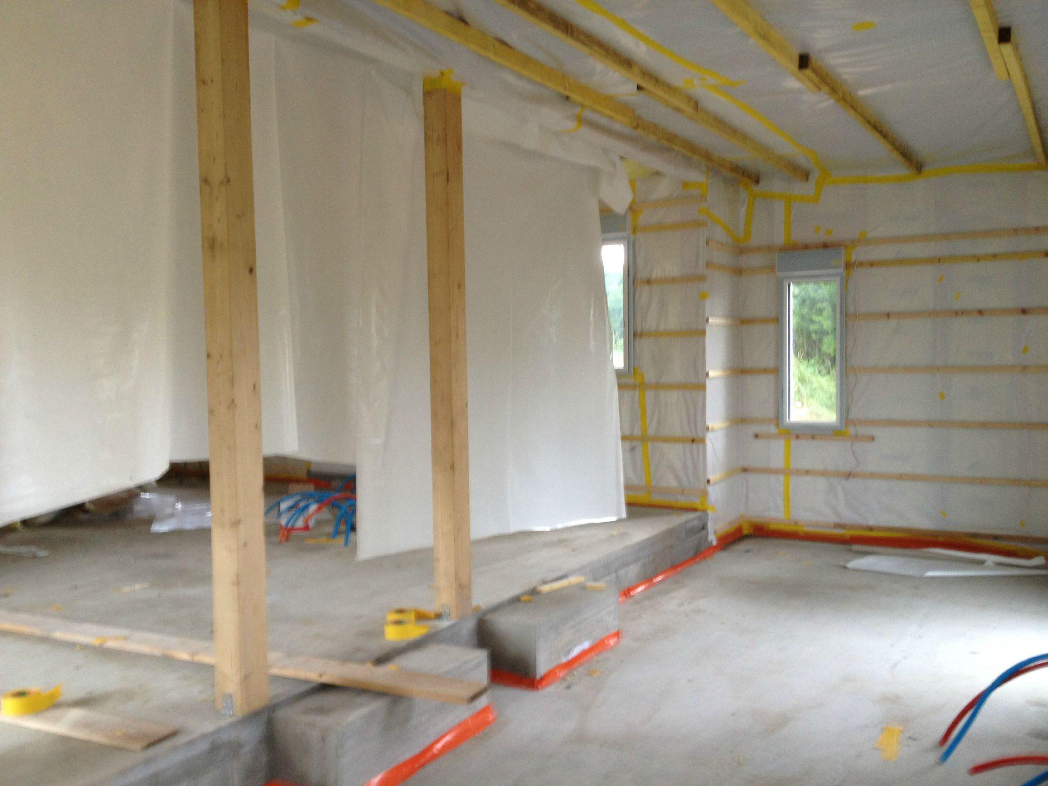 isolation intrieure maison attrayant isolation thermique des murs par l interieur ossature bois. Black Bedroom Furniture Sets. Home Design Ideas