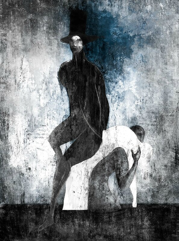 Gabriel Pacheco 1973 - Mexican Surrealist Visionary painter - Tutt'Art@ (71)