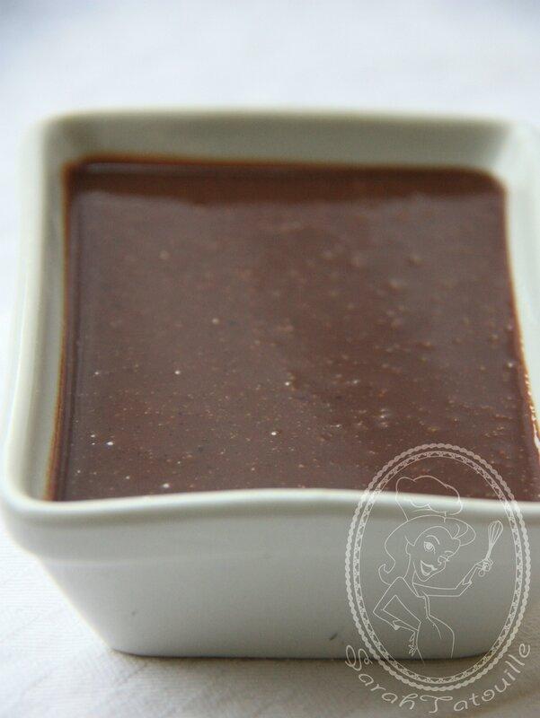 SAUCE CHOCOLAT PRALINE