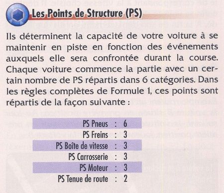 17 points de structure