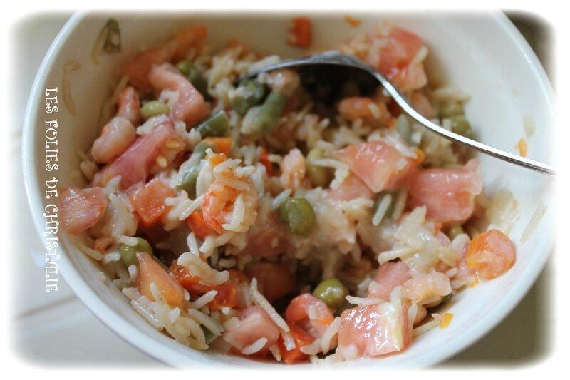 Tomates farcies aux crevettes 2