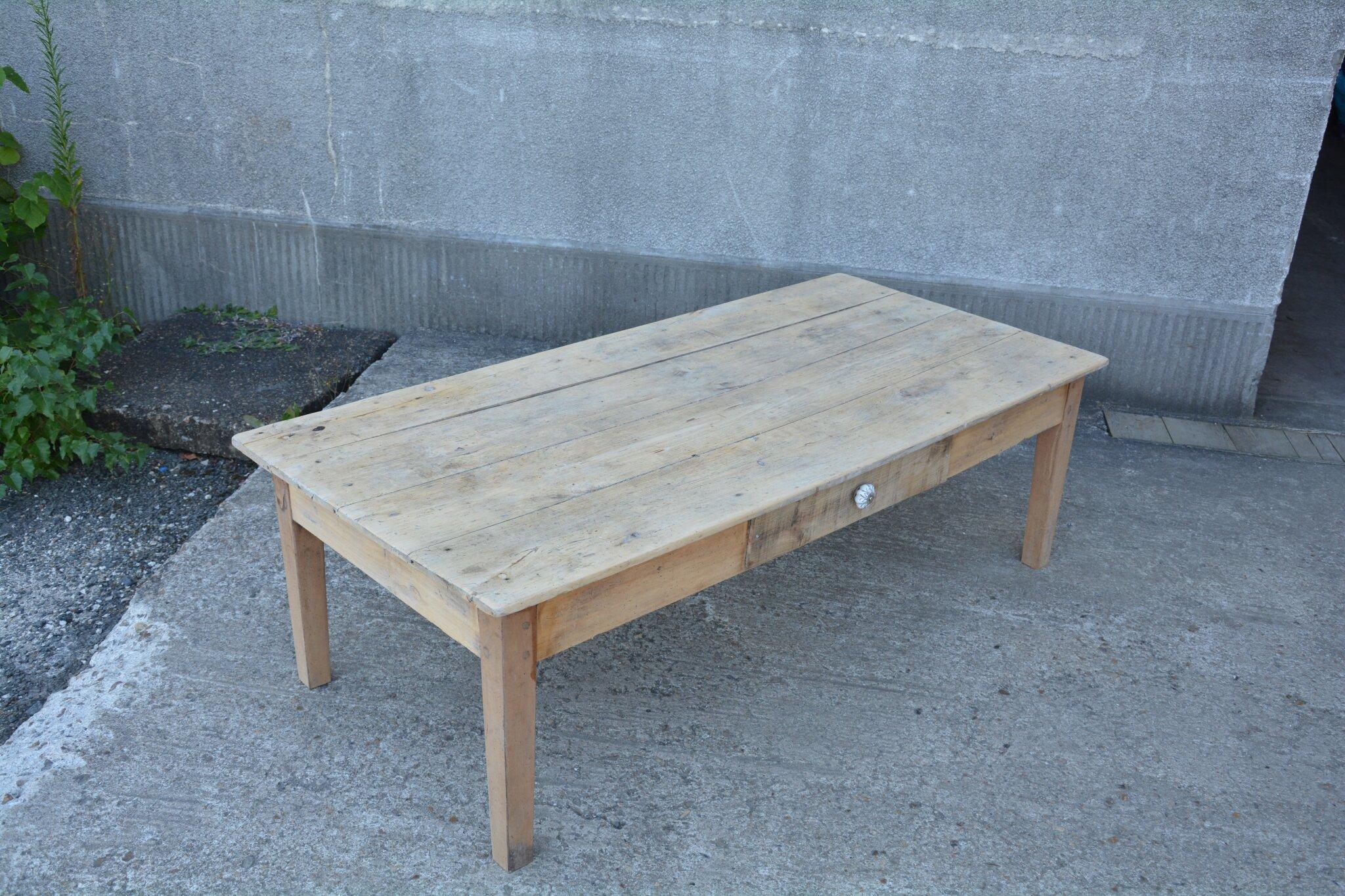 Grande Table Basse La Petite Brocanteuse