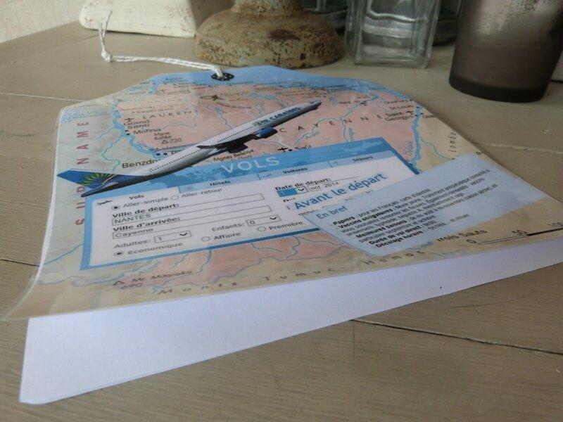 Carte Départ Guillaume -Guyane