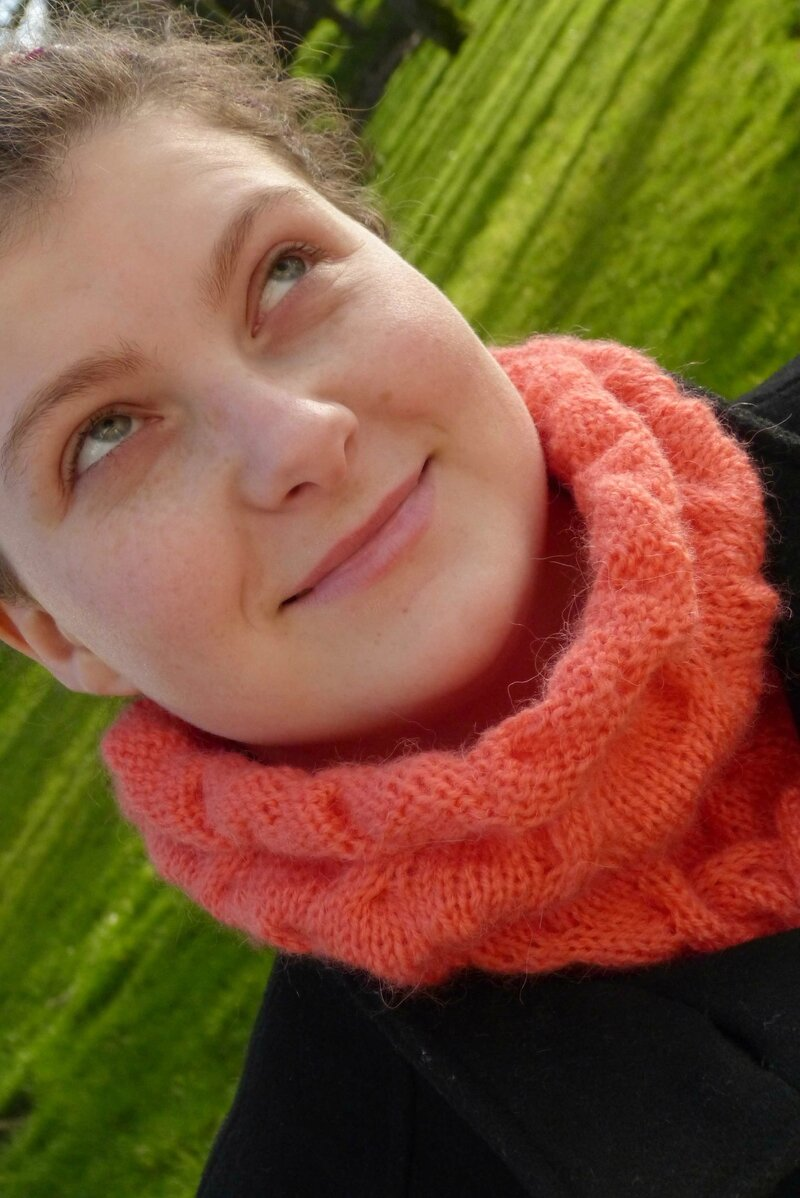 snood cloud corail (2)