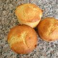 Muffins aux amandes et à la vanille