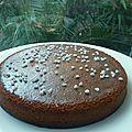 Gâteau moelleux amande-cannelle