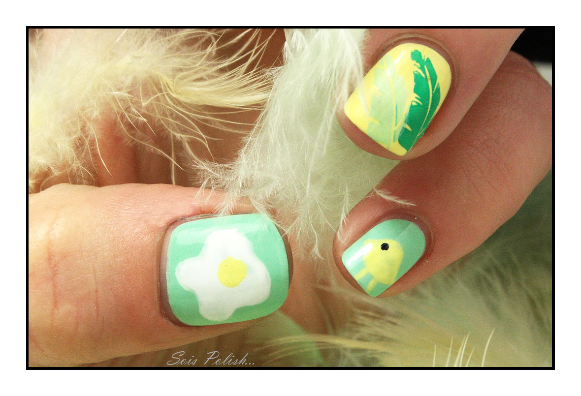 The Sunday Nail Battle #33 - Un Oisal, des Oiseaux.