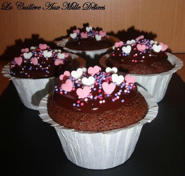 cupcakes au chocolat