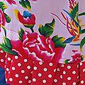Robe japonaise fleurs de chine