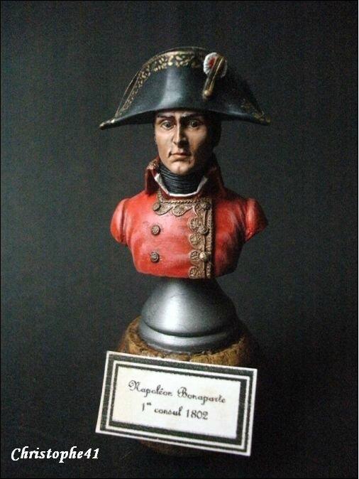 Napoléon Bonaparte 1er Consul 1802 PICT8395