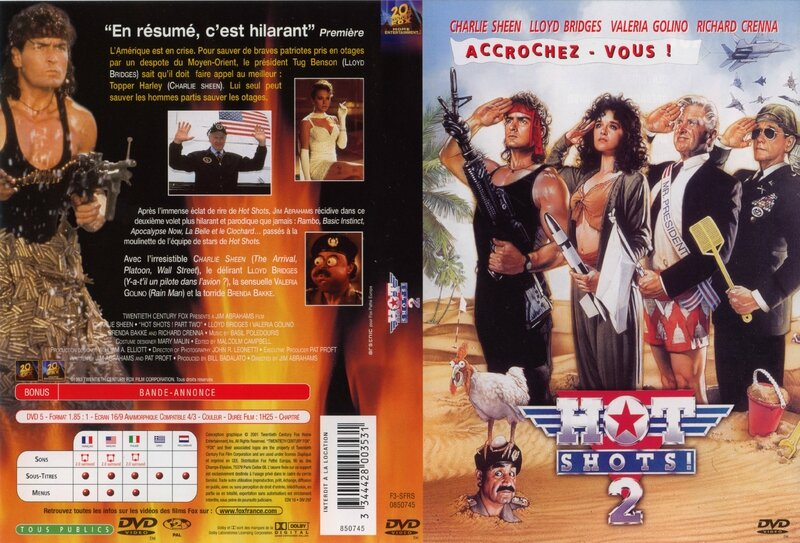 Jaquette HOT SHOTS ! 2 ( 1993 )