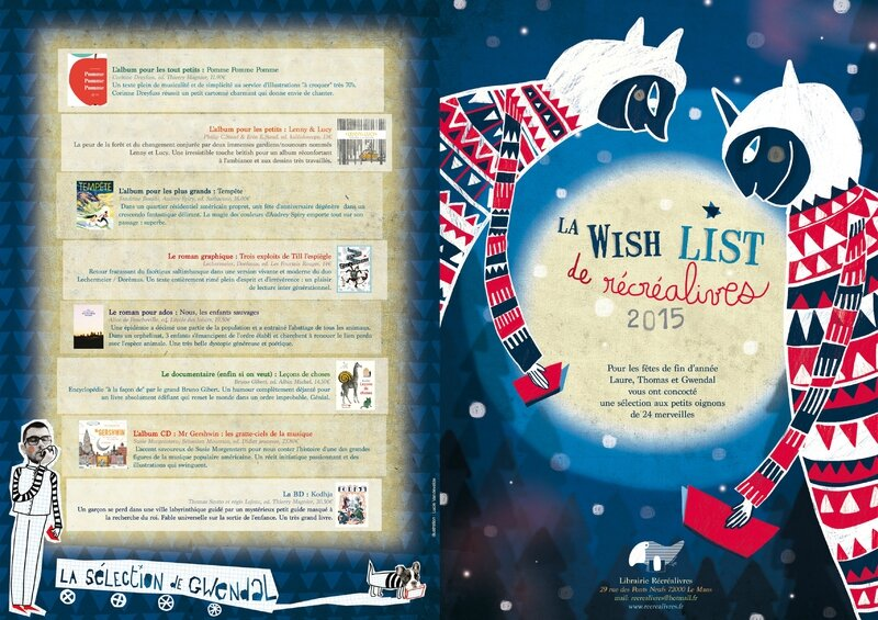 wishlist recrealivres one web