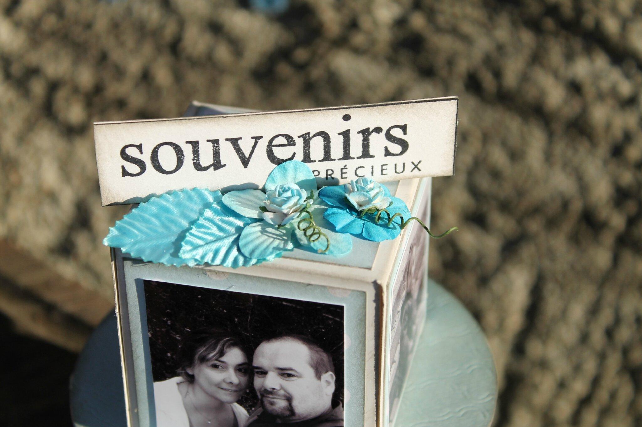 "Porte photo "" Souvenirs """