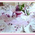 Une table toute douce..........
