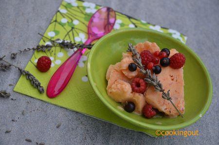 frozen yogurt abricot lavande