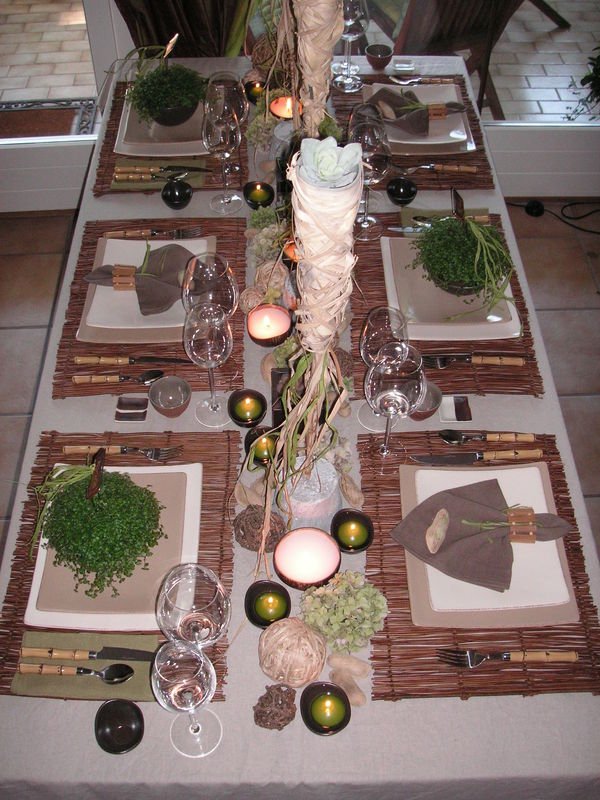Deco de table nature zen - Decoration zen et nature ...