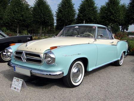 BORGWARD Isabella Coupe 1960 Classic Gala de Schwetzingen 2010 1