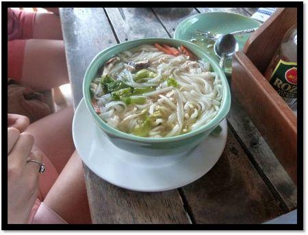 pâtes thaïs
