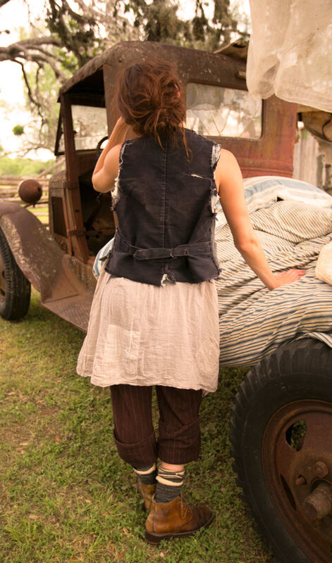 MP Cotton sleeveless slip dress with patches Baileybelle.victorien rose.03.jpg